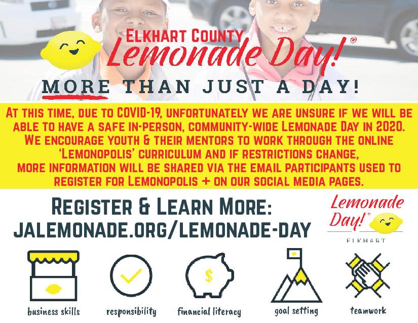 Lemonade Day May 18, 2019