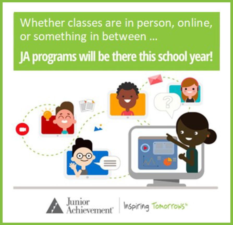 JA Programs will be there this school year!